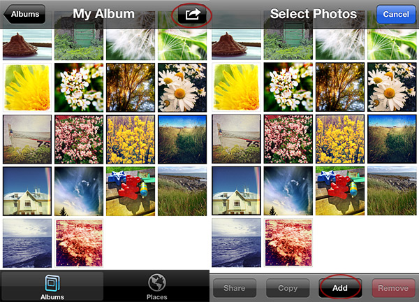 How to create photo albums on the iPhone