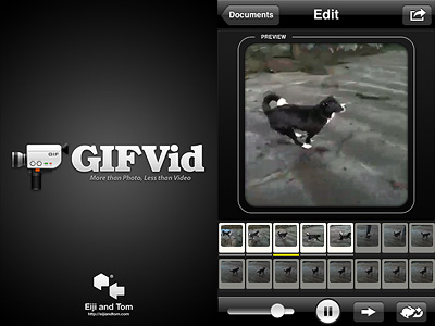 GIFVid app for iPhone and iPod Touch
