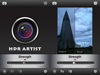 HDR Artist for iPhone