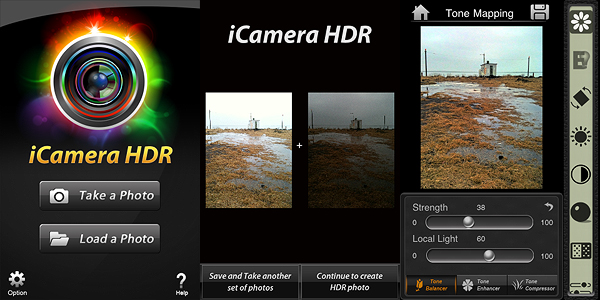 iCamera HDR by Everimaging for iPhone