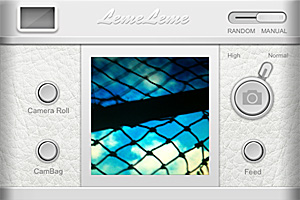Leme Camera for iPhone