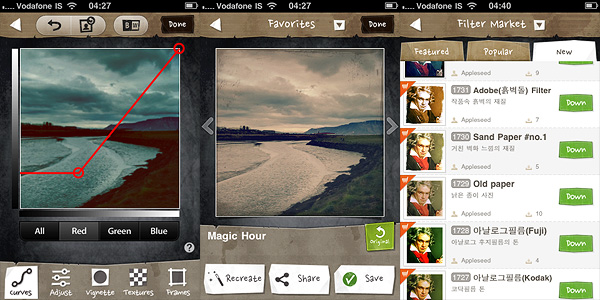 Magic Hour app for iPhone by Kiwiple