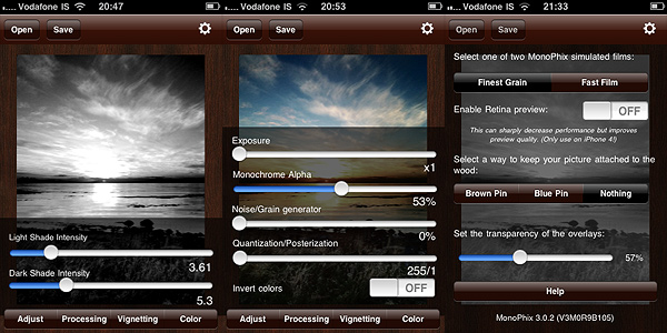 Monophix for iPhone