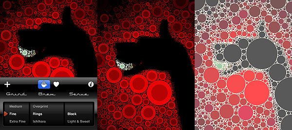 Percolator by Tinrocket for iPhone