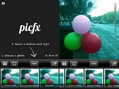 Picfx by ActiveDevelopment for iPhone