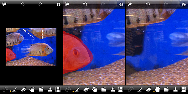TouchRetouch app by Adva-Soft for iPhone