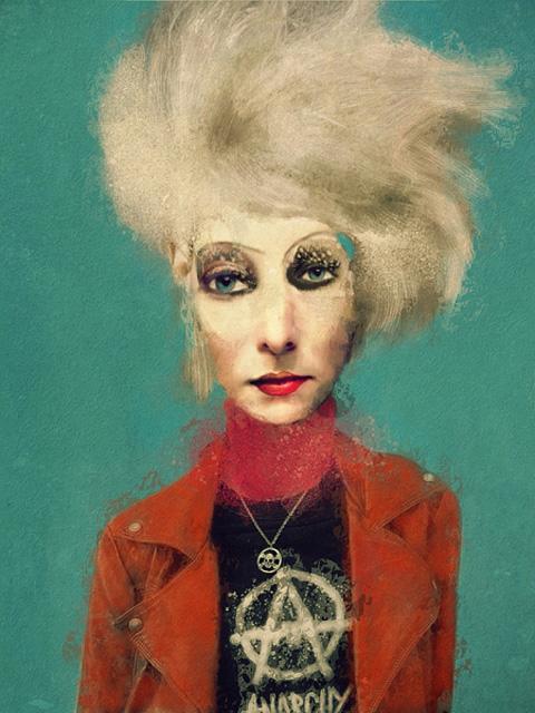 Jackie is a punk © Sarah Jarrett