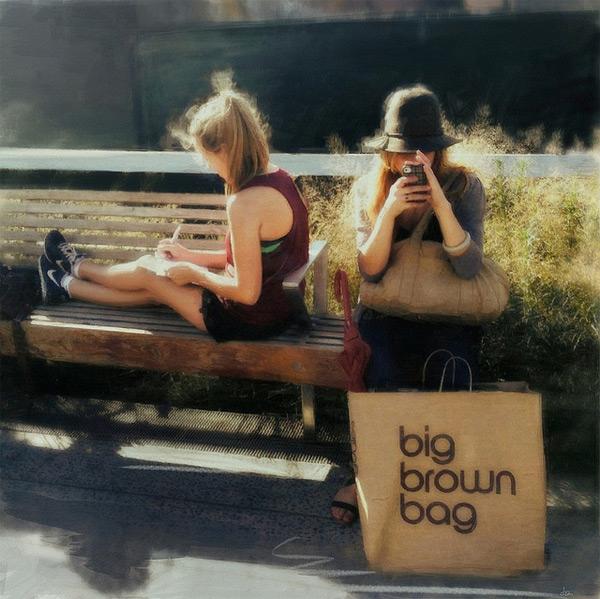 Big Brown Bag  © JQ Gaines