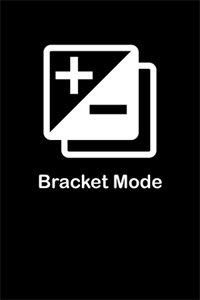 Bracket Mode by Cogitap for iPhone
