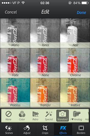Standard Effects Camera+ 4.2