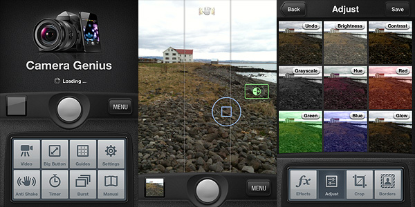 Camera Genius by CodeGoo for iPhone