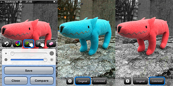 Colorize by Widgetize for iPhone