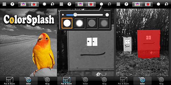 ColorSplash by Pocket Pixels for iPhone