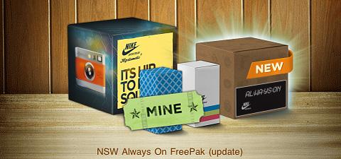 NSW Always On FreePak Hipstamatic iPhone