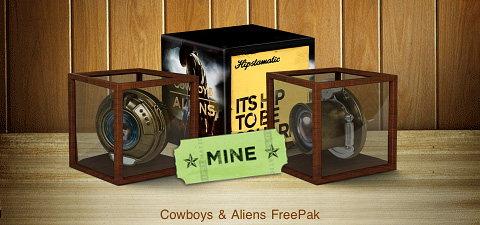 Hipstamatic Cowboys & Aliens FreePak