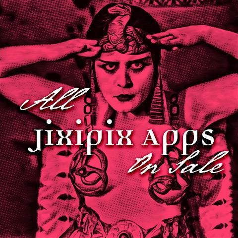JixiPix iOS Apps on Sale