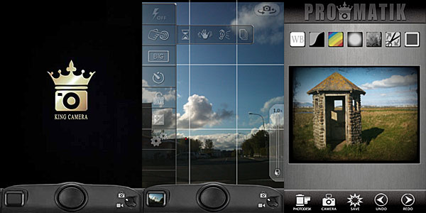 King Camera by Saycheezzz.com for iPhone