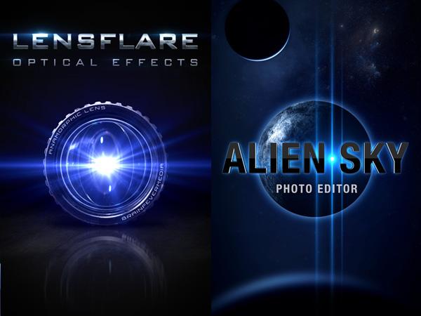 LensFlare/Alien Sky