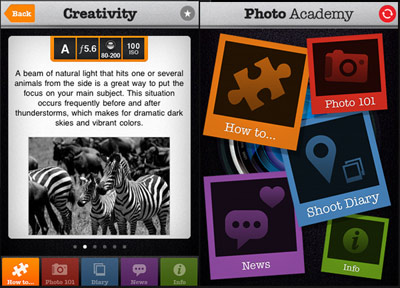 Photo Academy for iPhone by Aspyre