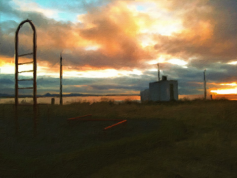 PhotoArtista Oil by JixiPix iPhone