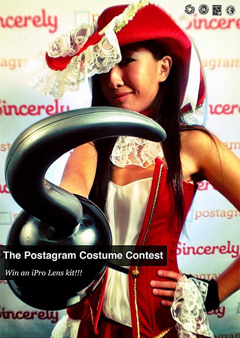 Postagram Costume Contest