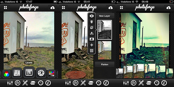 PhotoForge2 universal app by GhostBird