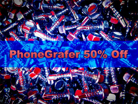 PhoneGrafer on Sale!