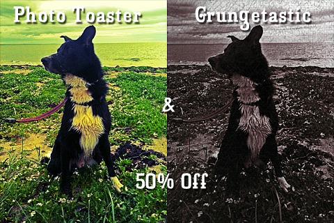 Photo Toaster & Grungetastic on sale!