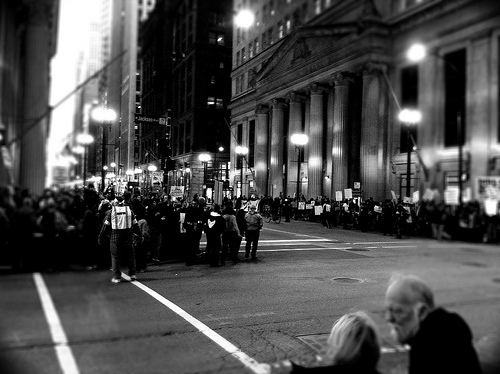 Occupy Chicago. Photo by Anna Aaron - PhotoSchmoto, taken with an iPhone 4.