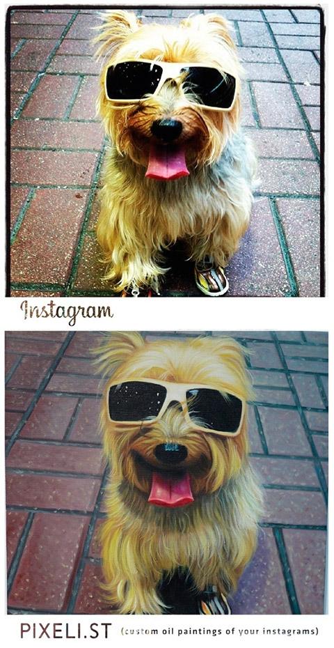 Instagram to Pixelist