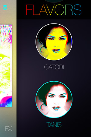 Popkick App Color Presets