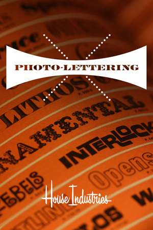 Photolettering iPhone