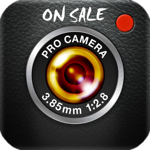 ProCamera iPhone On Sale