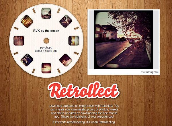 Retrollect iPhone