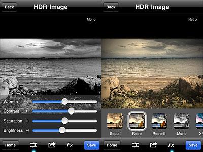 TrueHDR iPhone