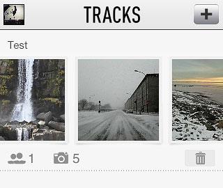 Tracks iPhone