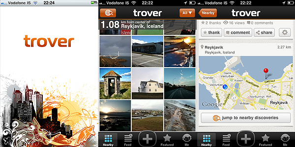 Trover for iPhone
