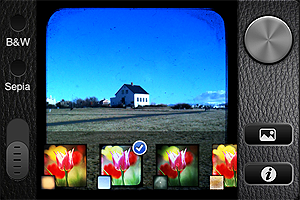 TtV Camera app by Taplayer for iPhone