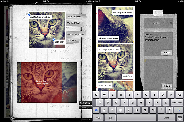 Visual Poet App iPad/iPhone
